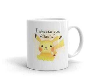 I Choose You, PIkachu! - Pokemon Inspired