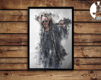 Chriss Cornell Print wall art home decor poster