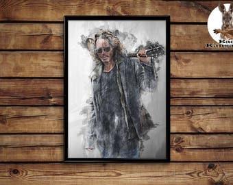 Chriss Cornell Print wall art home decor poster