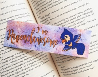 I'm Ravenclawesome | Harry Potter Bookmark