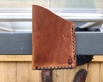 One Pocket Wallet - Horween Dublin English Tan - leather