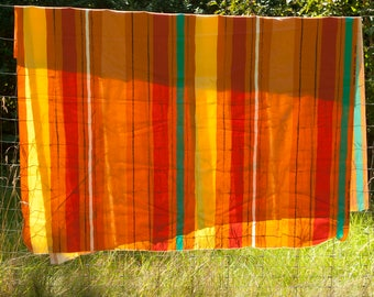 Heavy cotton fabric made in Sweden, 59 x 106.3 inches