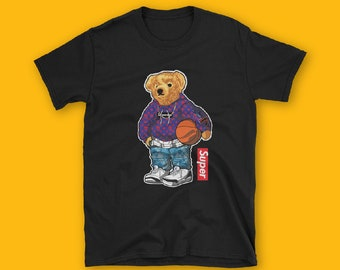 Dope Bear Short-Sleeve Unisex T-Shirt, Fahion, unisex, couple t-shirt
