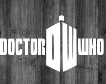 Doctor Who DW Decal