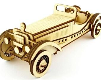 3-D puzzle Mercedes-benz SSKL