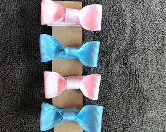 Baby hair bows- set of four