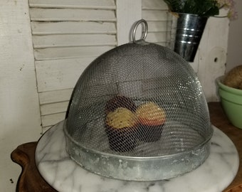 Vintage Fly Screen Food Protector
