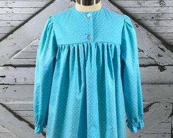 Size 6, 7, 8--Girl's Cotton Flannel Gown