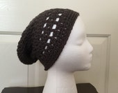 Grey Summer Slouchy Beanie, Slouch hat