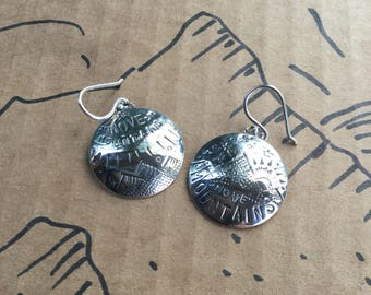 Move Mountains Mis-matched Earrings - Sterling Silver