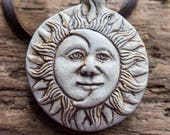 Solar Eclipse Necklace | Eclipse 2017 | Sun and Moon Necklace | Eclipse Jewelry | Earthy and Organic Necklace | Celestial Necklace Under 20