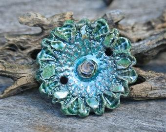 Handmade RAKU Bead