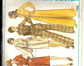 Vogue Misses' Dress, Tunic and Pants Pattern 2968