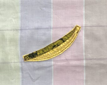 Banana Patch, Appliquéd Embroidered Badge