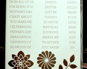 Used Like New! Crazy About You Stampin' Up! retired photopolymer stamp set (30)