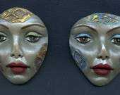 Reserved for Arisa Only.. 2  Tribal Face Textured Faces