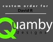 Custom Order for David R - Cool Men's Bracelet
