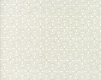 Biscuits and Gravy - Hoe Your Row in Creamy White: sku 30489-14 cotton quilting fabric by BasicGrey for Moda Fabrics