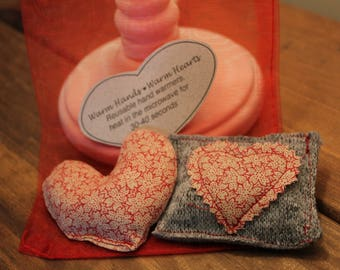 Valentine's Warm Hands, Warm Heart, Reusable Eco-friendly Handwarmers
