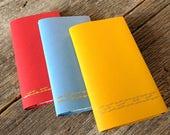 Star Trek OS - Set of 3 handmade notebooks