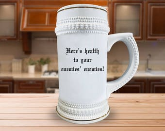 Here's Health Beer Stein