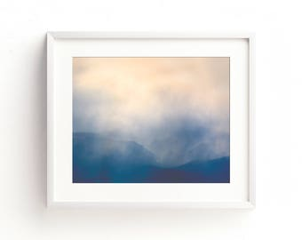 "mountain landscape, large wall art, large art, nature photography, modern, minimalist, contemporary, fine art, art prints ""Beartooths Storm"""