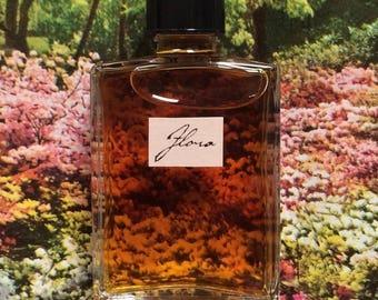 Flora Natural Perfume, Artisanal Botanical Fragrance, Small Batch, Handmade in Brooklyn, NY
