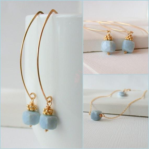 Blue Opal Set