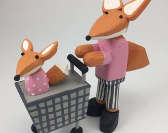 Little Foxes shop for organic vegetables