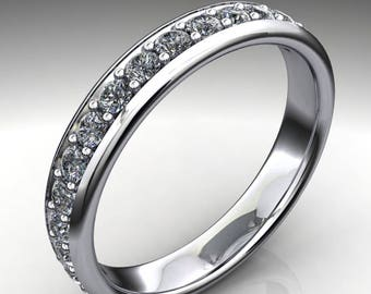 naomi wedding ring - diamond wedding band