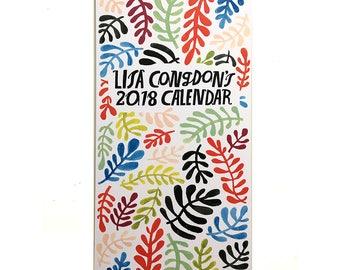 Lisa Congdon: 2018 Wall Calendar (Limited Edition)