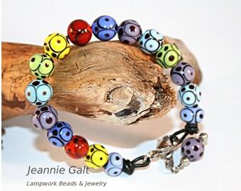 Lampwork  Art Jewelry by Jeanniesbeads #2476