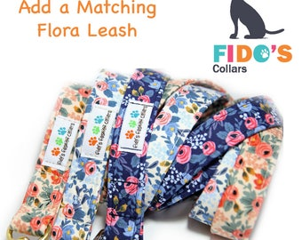 Floral Dog Leash, Rifle Paper Co Rosa Floral - Add a Matching Leash