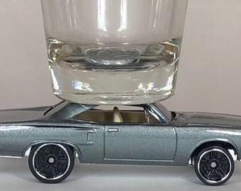 the Original Hot Shot shot glass, Chrysler Road Runner, Hot Wheel Car