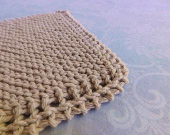Natural Cotton Dishcloth