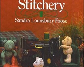SALE - Christmas Stitchery - Scrap Saver's - By Sandra Lounsbury Foose - From Oxmoor House - 1986 - 3.50 Dollars