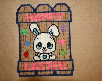 Happy Easter fence wall hanging