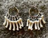 Coyote Knuckle Bone Earrings