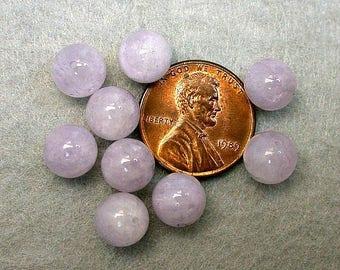Vintage CAPE AMETHYST Beads Lavender 8mm pkg 8 rb51