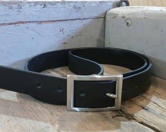 Handmade cowhide leather belt
