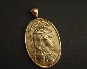 Athena | Minerva- Goddess of Wisdom and Justice -necklace