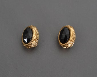 80s Richelieu  Clip On Earrings