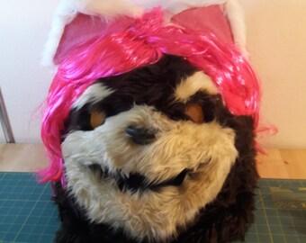 League of Legends cosplay mascot Tibbers head mask