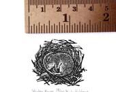 BLACK FRIDAY Miniature Mouse print - Wood engraving - Mouse engraving - Woodlands animal print - Mouse linocut