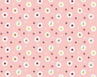 ON SALE Riley Blake Designs Sweet Orchard Scallop Pink