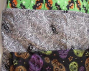 Halloween NoSew Fleece Blanket