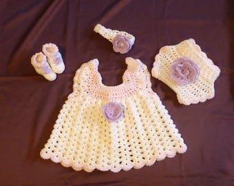 Reserved for Dawn Newborn Girl Set