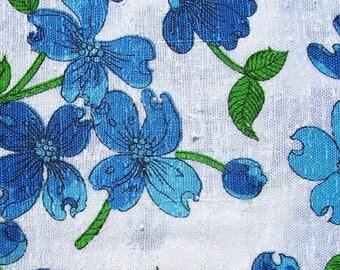 Vintage Cotton Fabric 45 x 45