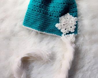 Beautiful Crochet Elsa Hat