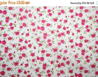 """SUMMER SALE Special offer! Liberty Tana Lawn """"NINA"""" colour M watermelon red 0.50 metre"""